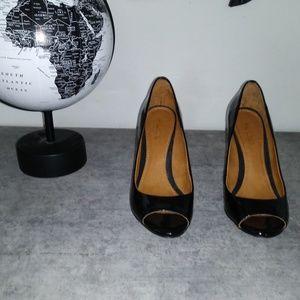 ALDO Lucille peep toe wedges